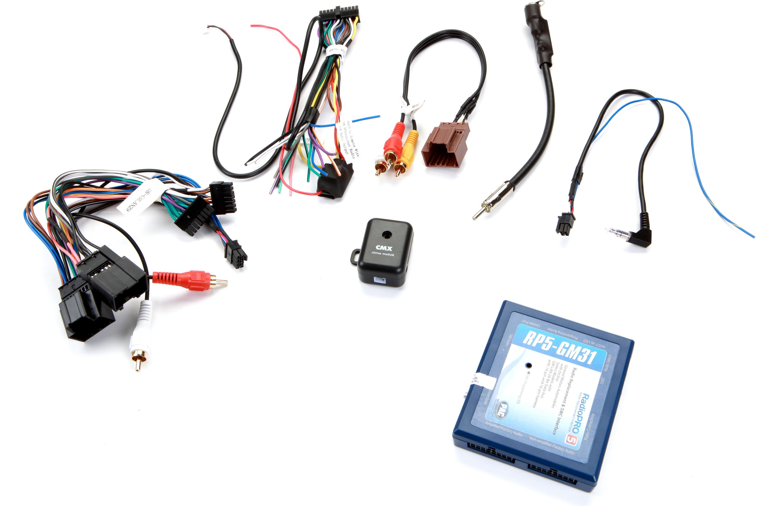 Pac Rp5 Gm31 Car Audio Giants Onstar Wiring Harness