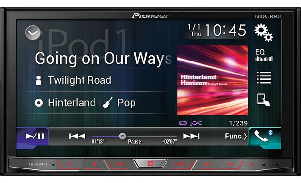 pioneer avh 4201nex in dash dvd receiver 7 touch. Black Bedroom Furniture Sets. Home Design Ideas
