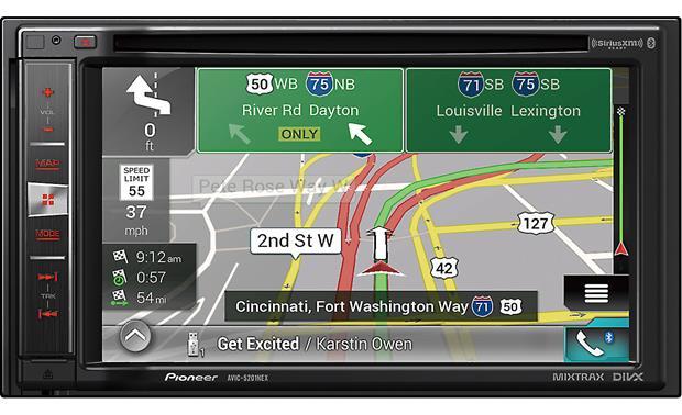 Pioneer Avic 5201nex In Dash Gps 6 2 Quot Touch Screen