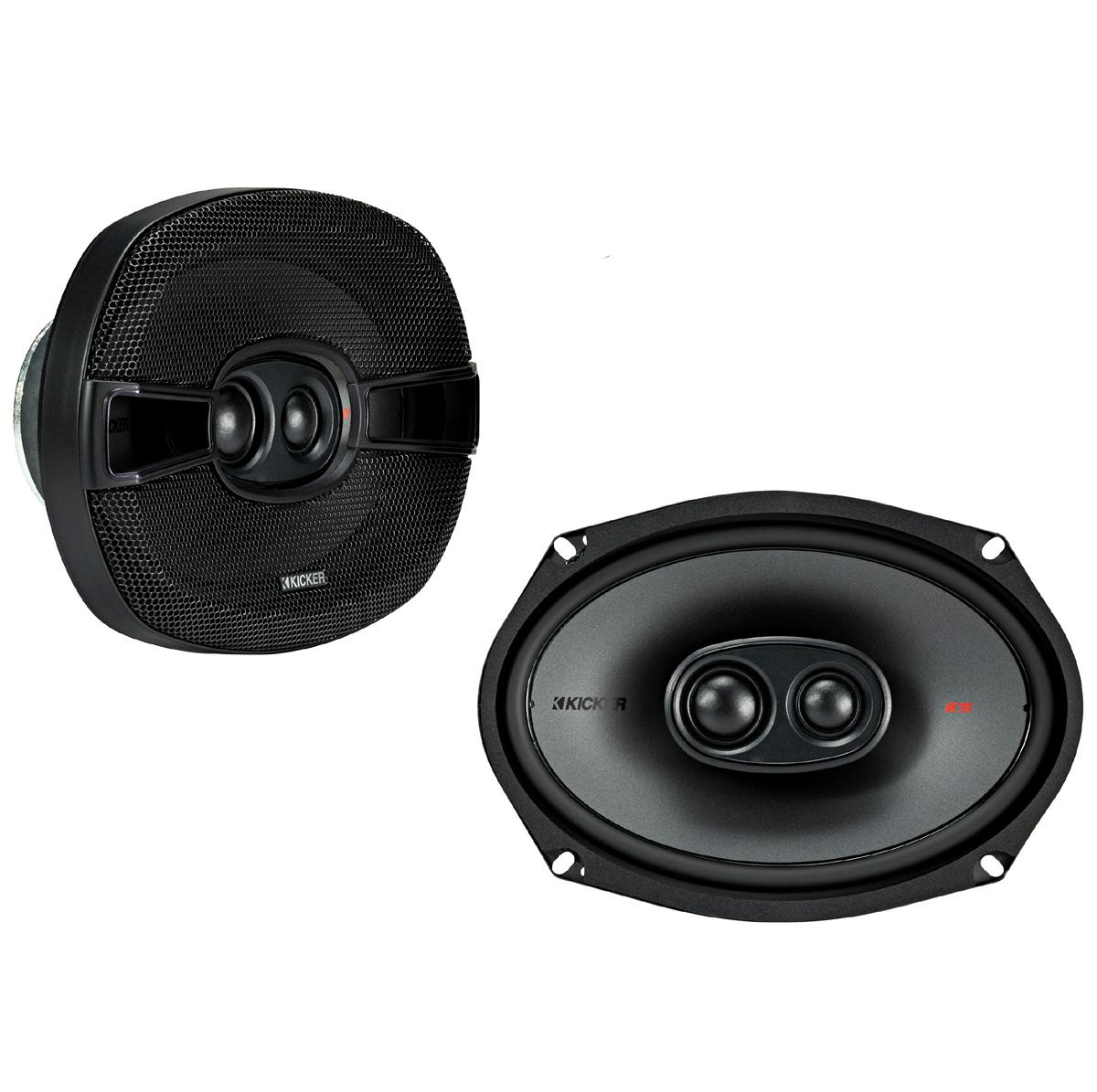 """New Kicker 41ksc694 6x9 Ks Series 600 Watt 2 Way Car: Kicker KSC6930 (44KSC69304) 600W Peak (300W RMS) 6x9"""" KS"""