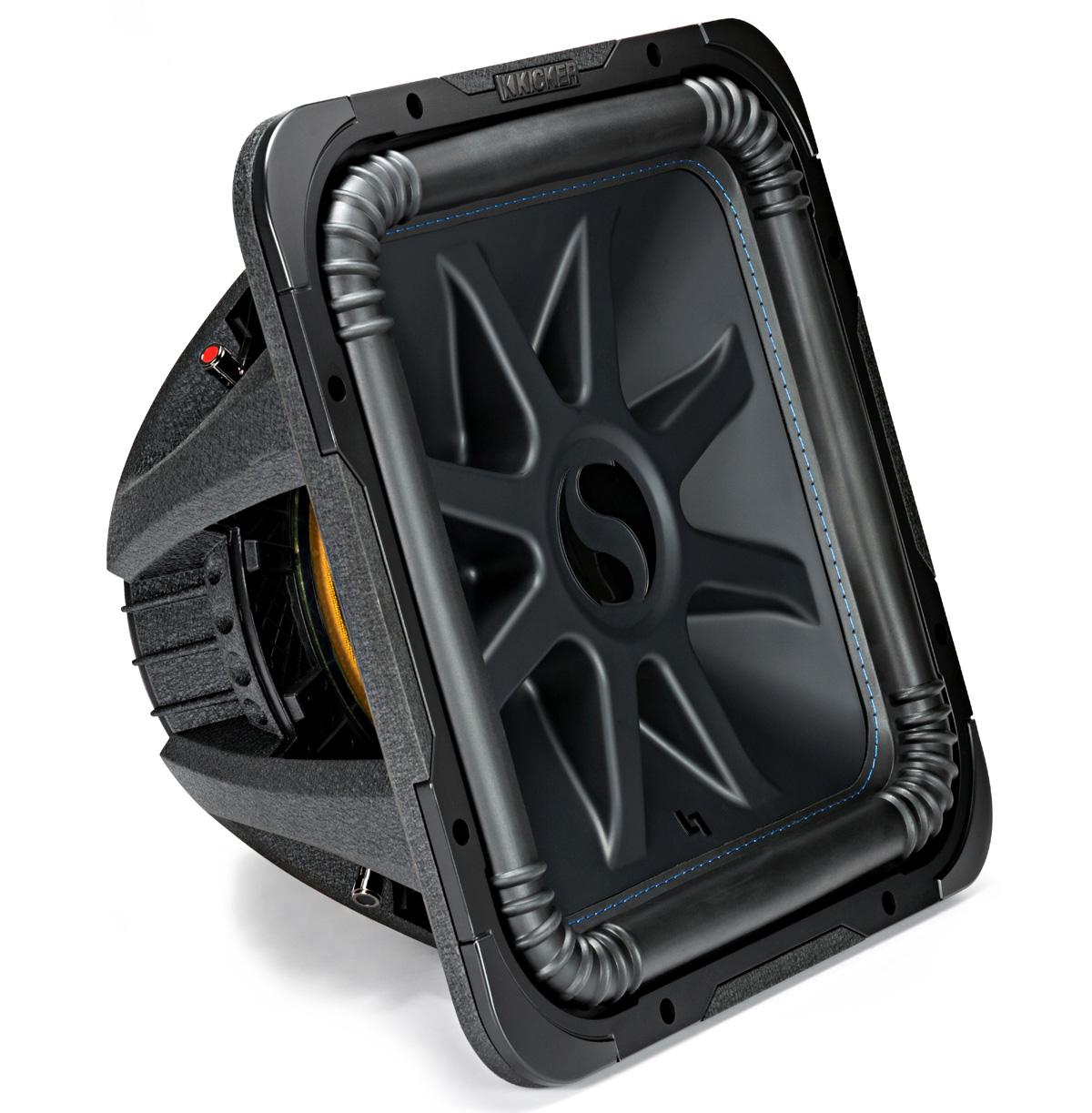 Kicker L7S15 (44L7S152) Car Audio Solo-Baric 15 Subwoofer Square L7 ...