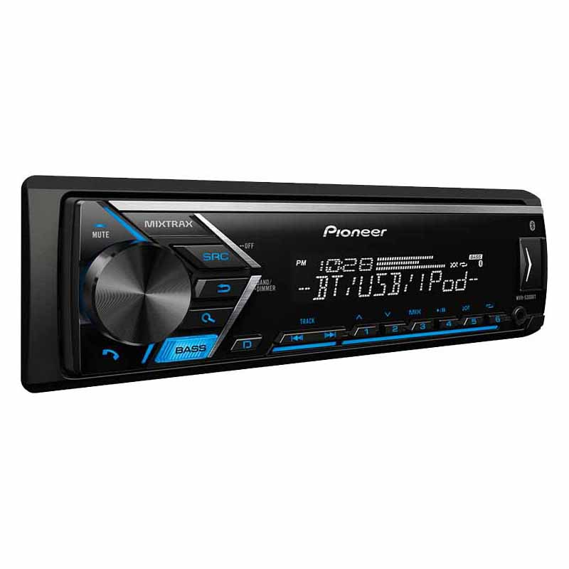 Pioneer Mvh S300bt Single Din Bluetooth Digital Media