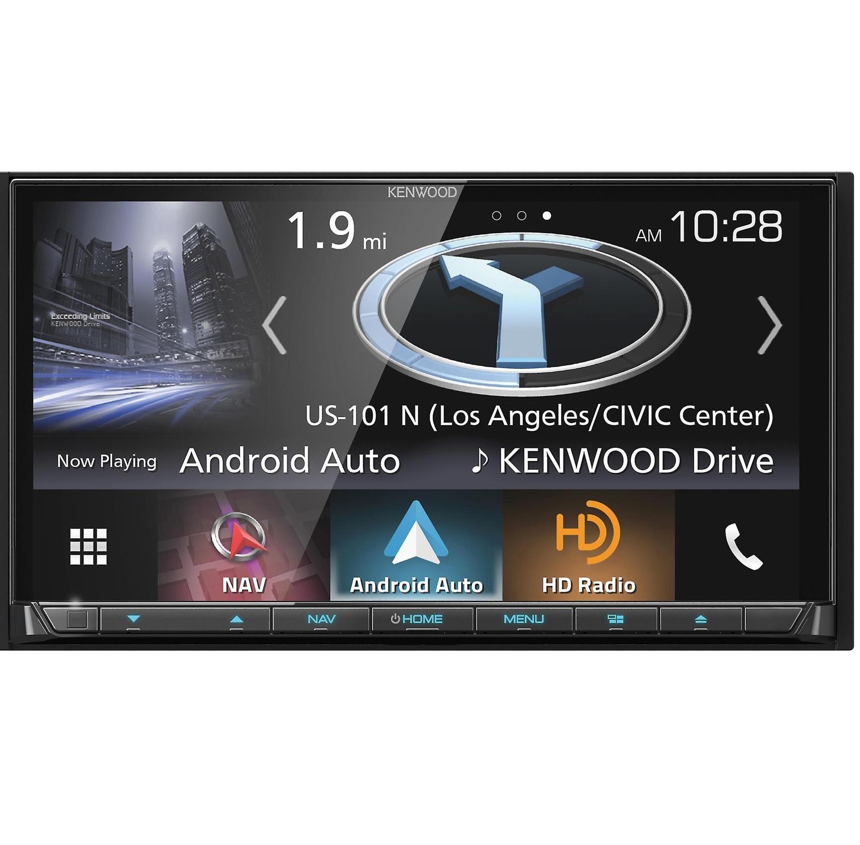 Kenwood DNX874s GPS Navigation System AUX/USB/BT/SiriusXm/HD Radio