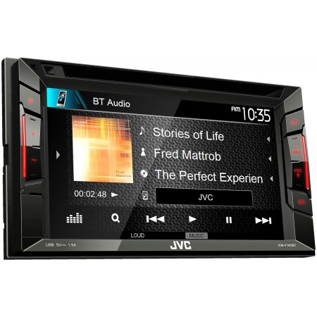jvc double din multimedia car stereo kw v140bt car. Black Bedroom Furniture Sets. Home Design Ideas