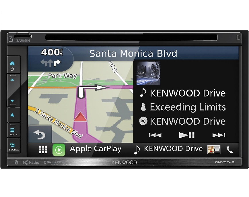 Kenwood Dnx574s 6 8 Double Din Gps Navigation Receiver on jvc car cd radios