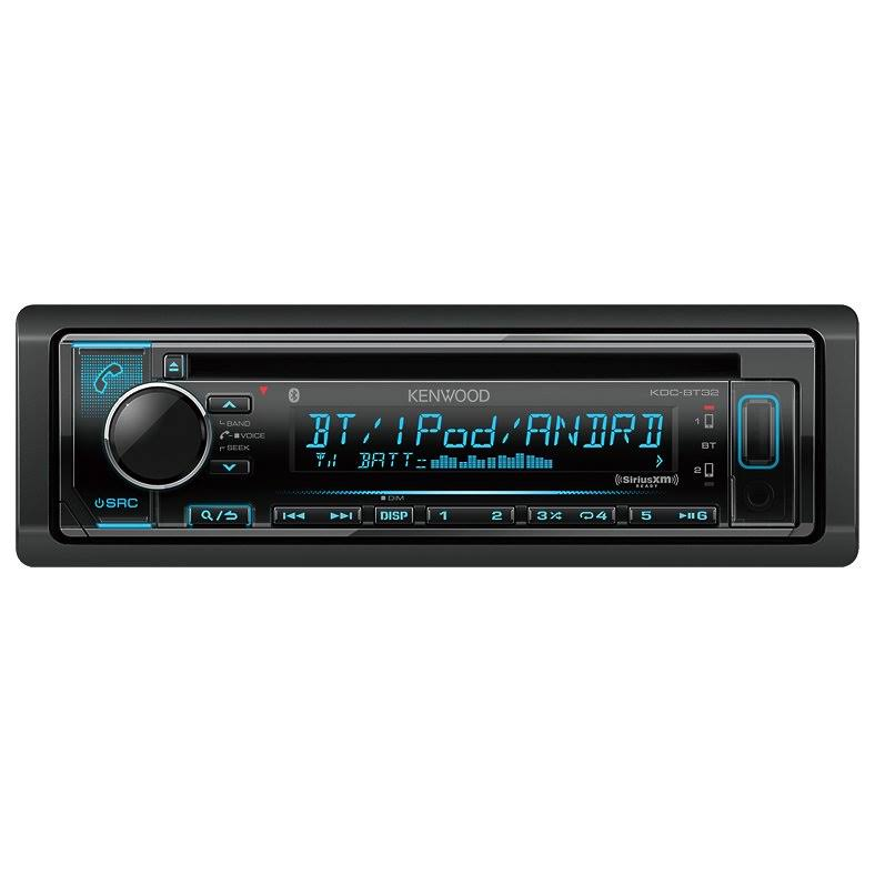 kenwood kdc bt32 in dash cd bluetooth receiver car audio giants rh caraudiogiants com Kenwood Car Stereo Touch Screen Kenwood Radios