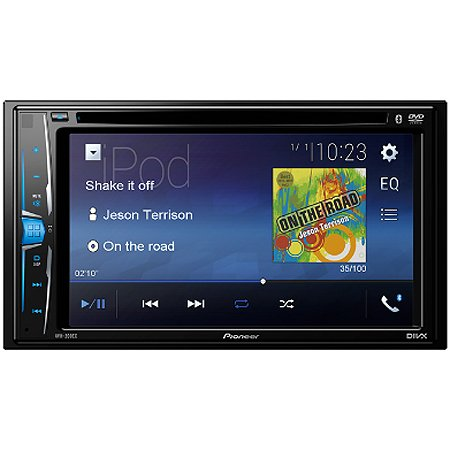 Pioneer Avh 200ex 6 2 Quot Double Din Bluetooth Touchscreen