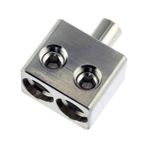 DS18 DPIV1/0, Dual 1/0 Gauge to 1/0 Gauge Input Reducers with Offset Stub