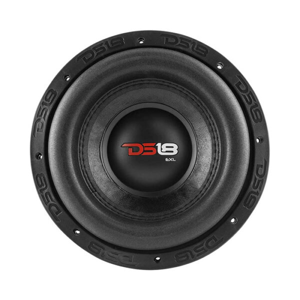 "DS18 EXL-X15.2D, EXL Red Frame 15"" Subwoofer 2 Ohm 2500 Watts DVC"