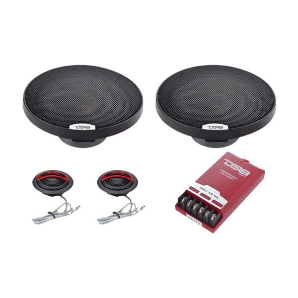 "DS18 GEN-X6.5C, 6.5"" 2-Way Genesis-X Series 150W Max 4-ohm Component Speakers"