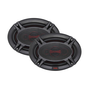 "DS18 GEN-X6.9, 6"" X 9"" 4-Way Genesis-X Series 380W Max 4-ohm Coaxial Speakers"