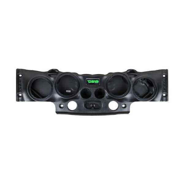 "DS18 JK-SBAR/BK, 4"" x 8"" JK-SBAR Black Sound Bar for Jeep Wrangler 07-17 JK JKU"