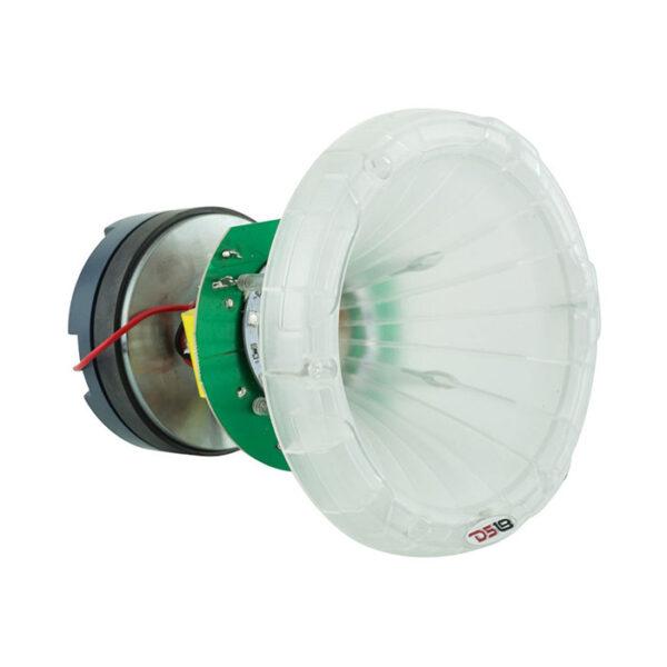 """DS18 PRO-DKHCL, 1.75"""" RGB Poly-carbonate Titanium 700W Horn Tweeter"""