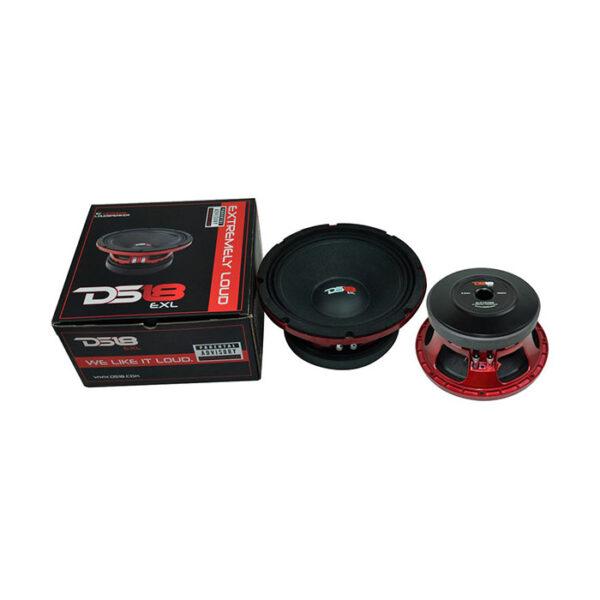 """DS18 PRO-EXL108MB, 10"""" Pro-Exlseries 1000W Max 8-ohm Midbass Speaker"""