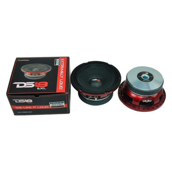 "DS18 PRO-EXL84, 8"" Pro-Exlseries 800W Midrange Speaker"
