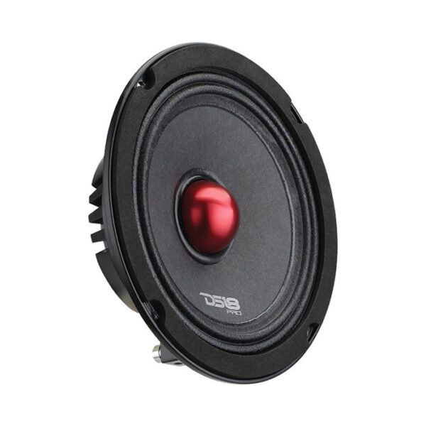 "DS18 PRO-NEO6SLIM, 6.5"" Pro Series 4-ohm, 400 Watt Midrange Speaker With Bullet"