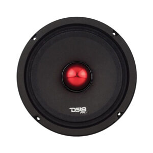 "DS18 PRO-NEO8SLIM 8"" Pro Series 300W Midrange Speaker With Bullet"