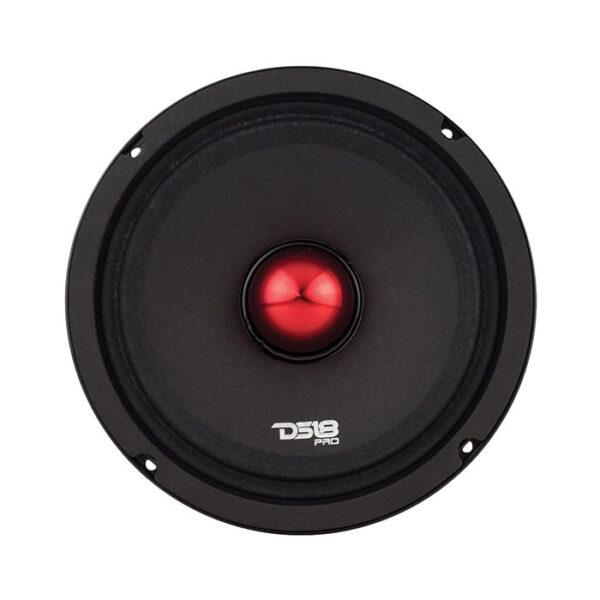 "DS18 PRO-NEO8SLIM 8"" Pro Series 300W Midrange Speaker With Bullet"