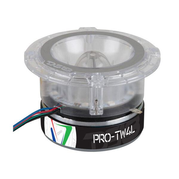 "DS18 PRO-TW4L, 1.75"" Pro Series Titanium 4-ohm, 600 Watt Bullet Tweeter"