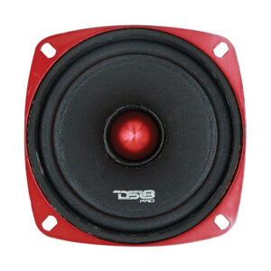 "DS18 PRO-X4.4BM, 4"" Pro-Exlseries 200W Midrange Speaker With Bullet"