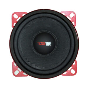 "DS18 PRO-X4M, 4"" Pro-Exlseries 8-ohm, 200 Watt Midrange Speaker"
