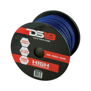 DS18 RE-16GA-500BL, 500' 16 Gauge Blue Primary Remote Wire