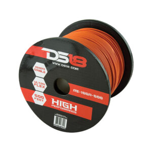 DS18 RE-16GA-500OR, 500' 16 Gauge Orange Primary Remote Wire