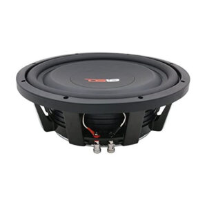 "DS18 SW10S4, 10"" Shallow Mount 1000W 4-ohm SVC Subwoofer"
