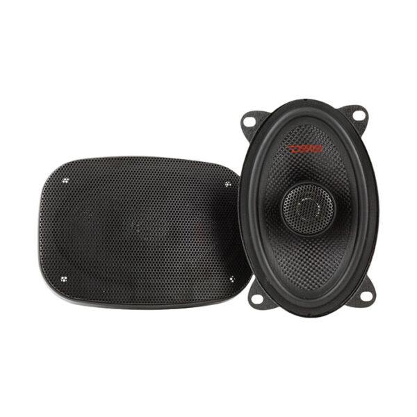 "DS18 Z-464, 4"" X 6"" 2-Way Elite Series 120W Coaxial Speakers"