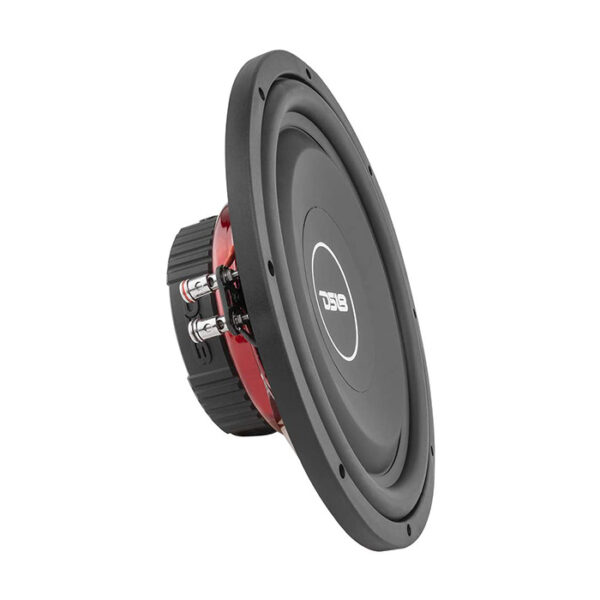 "DS18 SRW12.4D, 12"" Shallow Mount Subwoofer Dual 4+ 4 OHM 440 Watts"