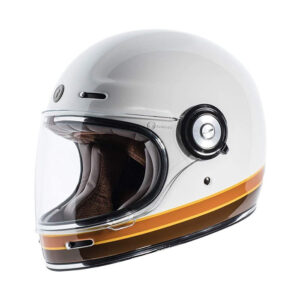 TORC T-1 Retro Full Face Helmet - Iso Bars