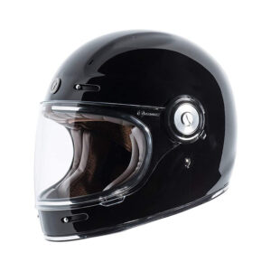 TORC T-1 Retro Full Face Helmet - Gloss Black