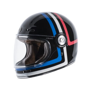 TORC T-1 Retro Full Face Helmet - Americana Tron