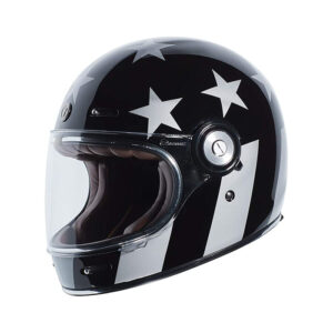 TORC T-1 Retro Full Face Helmet - Captain Vegas
