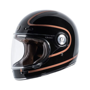 TORC T-1 Retro Full Face Helmet - Copper Pin