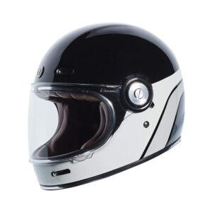 TORC T-1 Retro Full Face Helmet - Dreamliner Grey