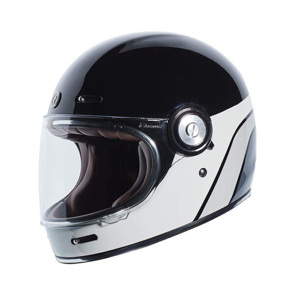 TORC T-1 Retro Full Face Helmet - Dreamliner Grey