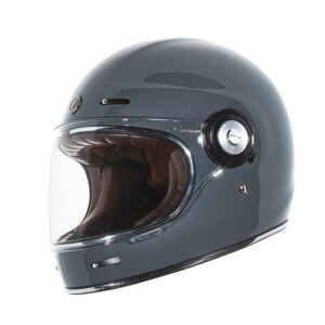 TORC T-1 Retro Full Face Helmet - Nardo Grey