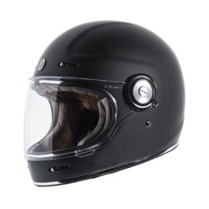 TORC T-1 Retro Full Face Helmet - Matte Black