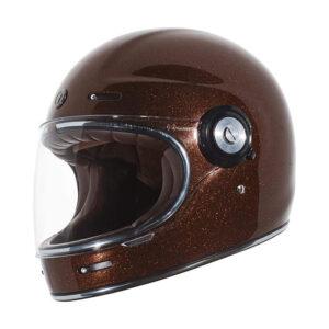 TORC T-1 Retro Full Face Helmet - Rootbeer Megaflake