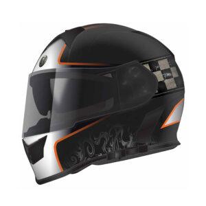 TORC T-14 Full Face Helmet - Champion Orange