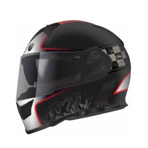 TORC T-14 Full Face Helmet - Champion Red