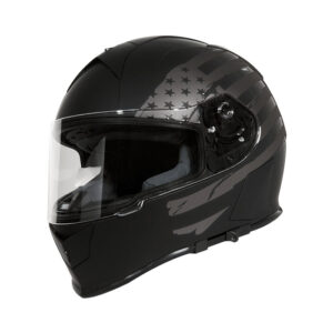 TORC T-14 Full Face Helmet - Black Flag