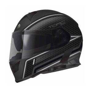 TORC T-14 Full Face Helmet - Scramble Grey