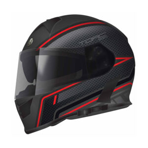 TORC T-14 Full Face Helmet - Scramble Red