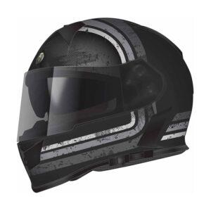 TORC T-14 Full Face Helmet - Streamline Grey