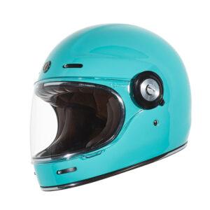 TORC T-1 Retro Full Face Helmet - Tiffany Blue