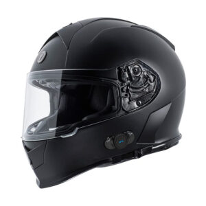 TORC T-14 Full Face Helmet W/blinc Bluetooth - Gloss Black