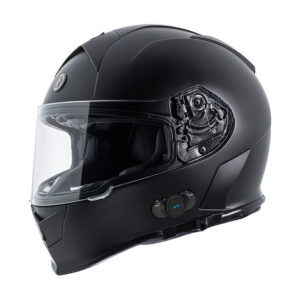 TORC T-14 Full Face Helmet W/blinc Bluetooth - Flat Black