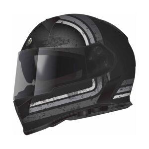 TORC T-14 Full Face Helmet W/blinc Bluetooth - Streamline Grey